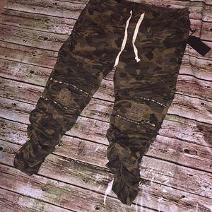 Pants - camouflage jeggins